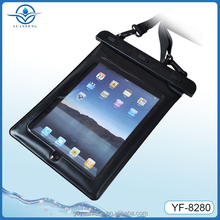 China fatory wholesale beach pvc tpu waterproof bag for ipad mini and similar 7-8 inch screen tablet