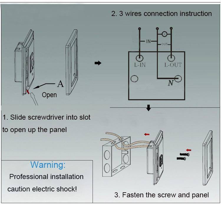 No-touch Control Led Switch Motion Sensor Led Switch Sensor Led ...