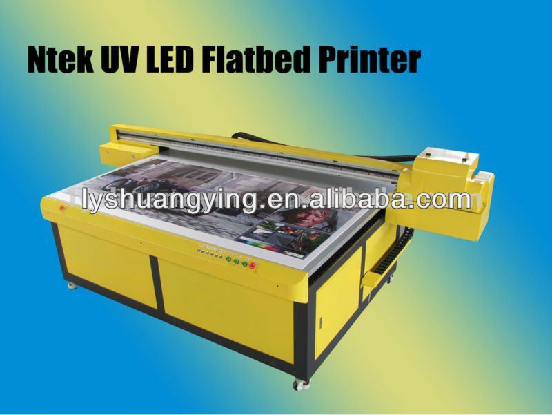 UV digital flatbed printing Machine for rigid paperboard packing industry