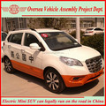 72V LHD China Made Electric Cars (SKD/CKD available for assembling in local)