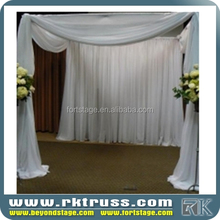 High Quality Pipe and Drape Kit Stage Backdrop for Wedding Arches for Sale