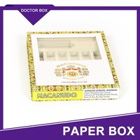 Promotional Cardboard Cigarette Box With Compartment