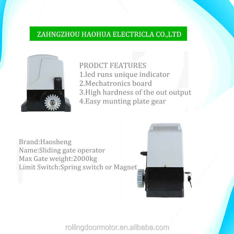 automatic gate motor sliding electric door opener operator