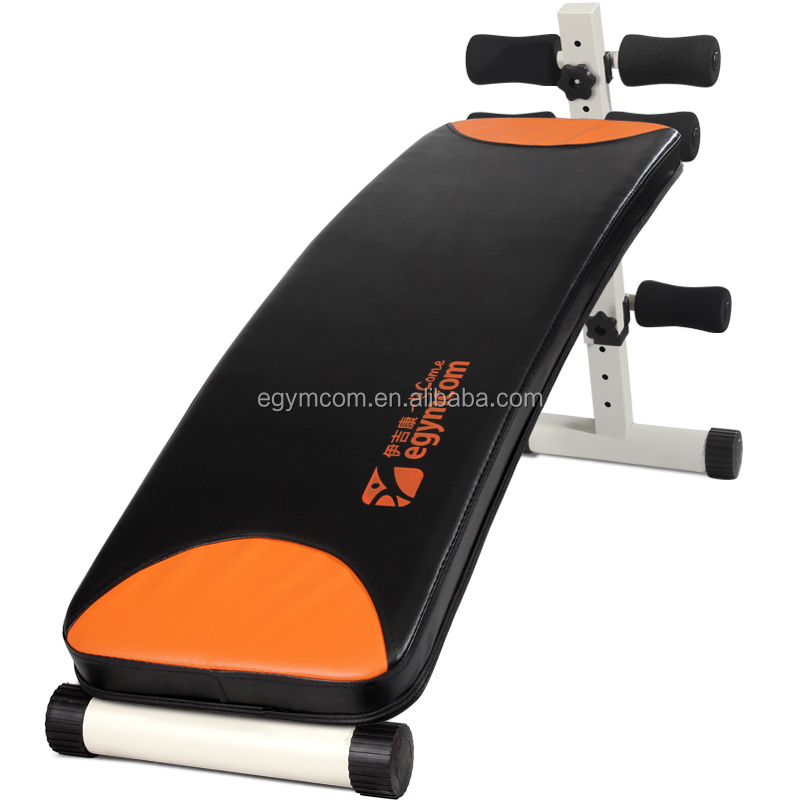 China supplier multifunction sit up bench Folding Ab Crunch Bench fitness exercise equipment for home use