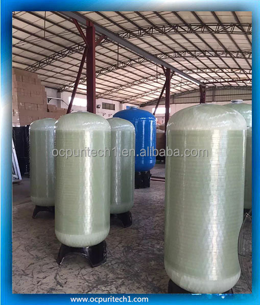 Blue fiber reinforce plastic water filter 1670 frp tank with high quality