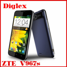 Wholesale original zte v967s smartphone quad core mtk 6589 5.0 inch 4GB rom wifi gps zte mobile phone