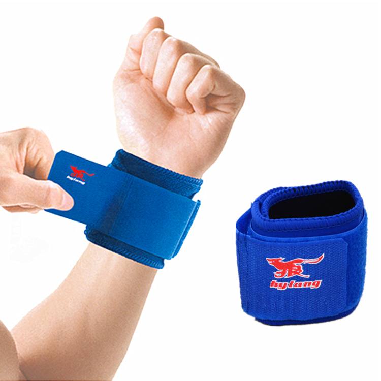 HYL-1901 sports waterproof adjustable neoprene wristband for volleyball
