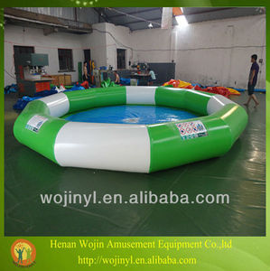 round swimming pool/hot sale round inflatable pool for children and adults swimming