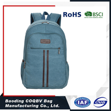 COQBV 2017 Canvas school bags trendy outdoor leisure backpack