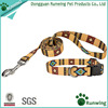 Pet supplies premium nylon dog leash collar customized print dog collar leash