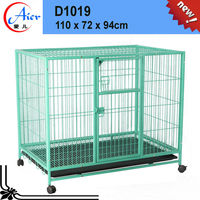 animal cage dog cage with plastic pallet dog cages metalD1019