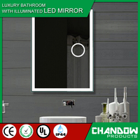 CSJ023 Low Energy Bathroom Magnifying Slim-line LED Mirror
