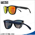 2014 latest fashion accessories Italian designer brand sun glasses with yourself logo
