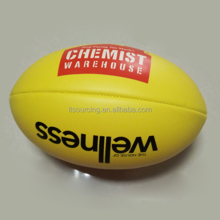 Natural Official Size Standard High Quality Custom Australian Rules <strong>Football</strong>/AFL Ball