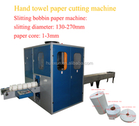 Automatic log saw toilet roll cutting kitchen paper machine