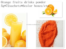 FDA certification passed 10kgs bulk in foil bagged instant flavoured juice drink