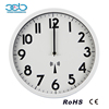 12 Inch plastic Digital Decorator Radio Controlled Station Wall Clock