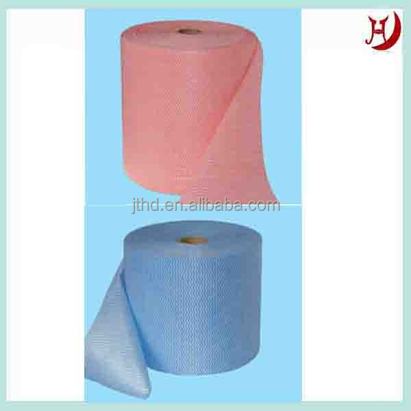 Rayon Terylene Spunlaced Non-woven Fabric For Wet Tissue