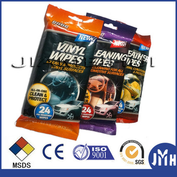 Soft material multifunction car care wipes wholesale