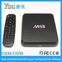 High quality Amlogic s812 2/8G M8S Android world global IPTV set top box