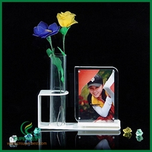 Beautiful colorful best gift customized acrylic clear vase