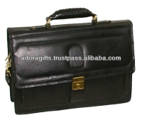 ADALCB - 0039 hotsales business laptop bag / leather laptop messenger bags for girls / leather laptop case/computer bag
