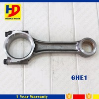 6HE1 6HF1 Diesel Connecting Rod For ISUZU Engine Main / Con Rod Bearing