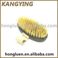 Custom WB15AHE Eco-friendly Ebony Wooden Bath Brush