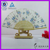 Customized Pretty Bamboo Fan For Wedding For Gift