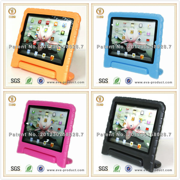 New standable toddler drop proof 9.7inch tablet case/EVA tablet case