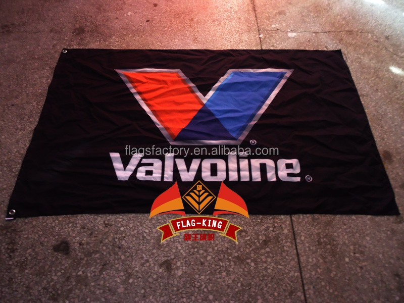 valvoline LOGO brand flag,Engine oil Lubricating oil banner free shipping,100% flag king polyster