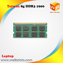 Brand OEM available 8gb ddr3 1600mhz memoria ram notebook laptop