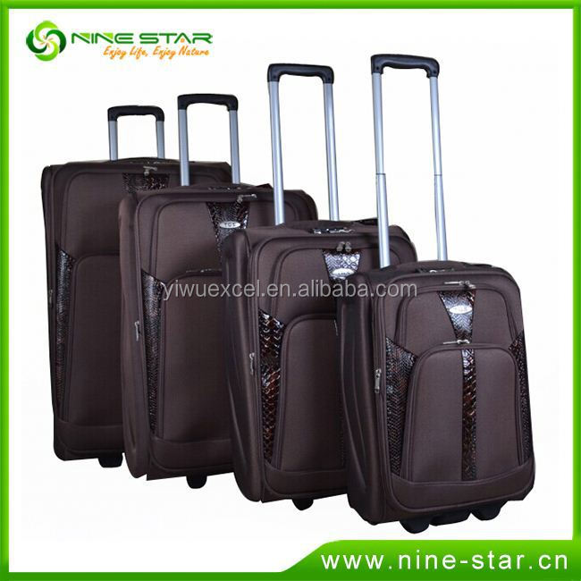 Professional Factory Supply Top Quality custom standard size suitcase 2015