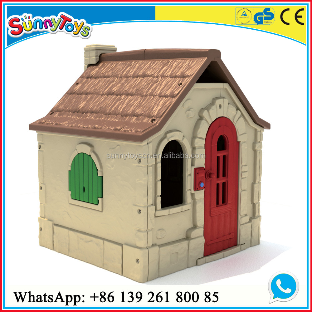 Cheap wooden playhouse indoor play kids wooden playhouse for Cheap outdoor playhouses