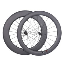 25mm Width Clincher Lightweight Carbon Road Bike Wheels