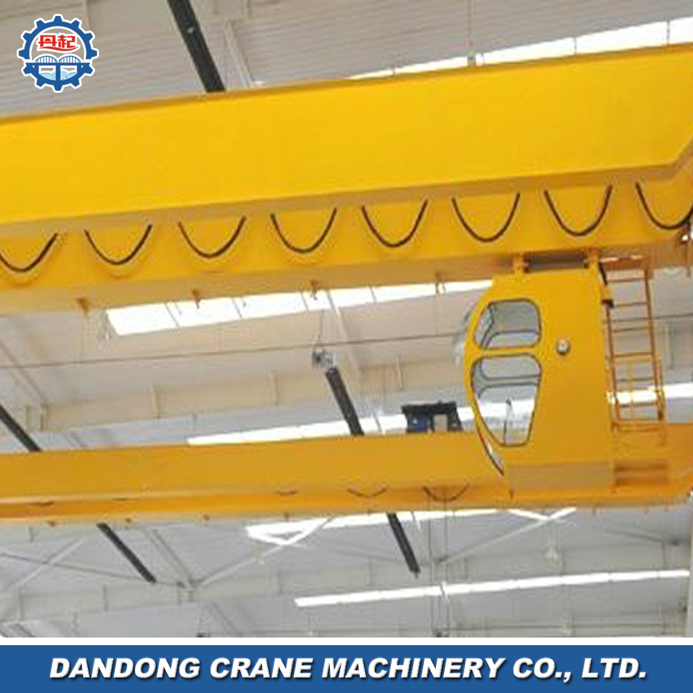 10 ton beautiful exterior OHSAS product top running structure update double overhead mobile crane specification