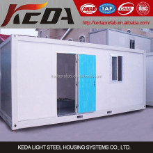 used for toilet,dormitories,kitchen,office,store expandable prefab shipping container homes