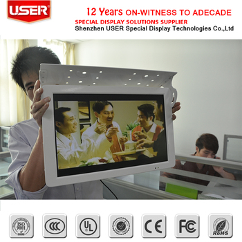 "26"" Bus TV Media LCD monitor with advertising monitor"