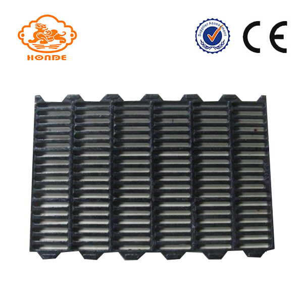 cast iron slats floor for sow farming equipment with leakage