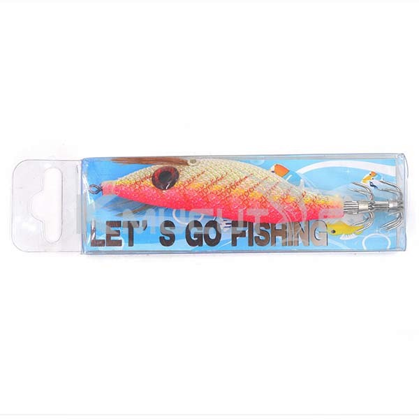 CHS013 3D big eyes squid jig luminous squid fishing bait japanese cloth hook stainless steel