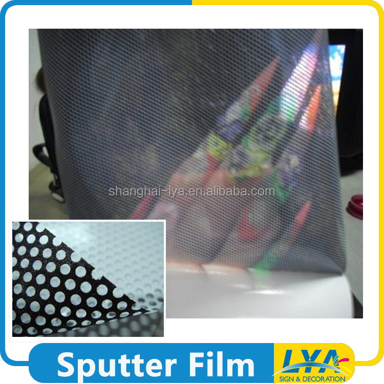 China factory classical see through one way vision material film