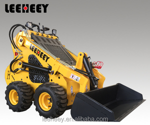 Leeheey brand LH323 compact landscape small front end mini skid steer wheel loader for sale