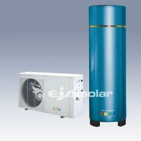 Air source heat pump all in one for home use