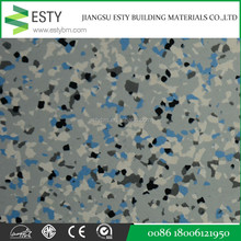 colorful Homogeneous Vinyl Commercial Floor