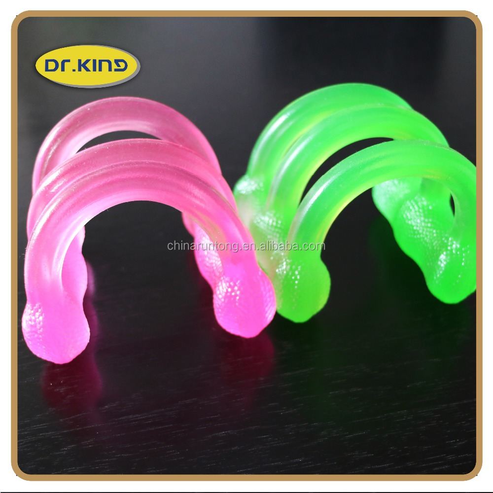 Color jelly silicone stretch gum exerciser chest expander developer fitness belt