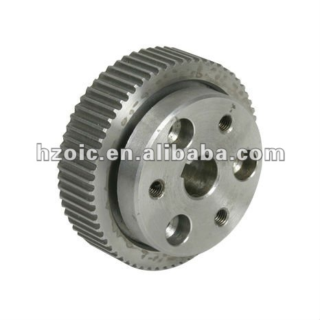 DQ TYPE Aluminum timing pulley,timing tensioner pulley