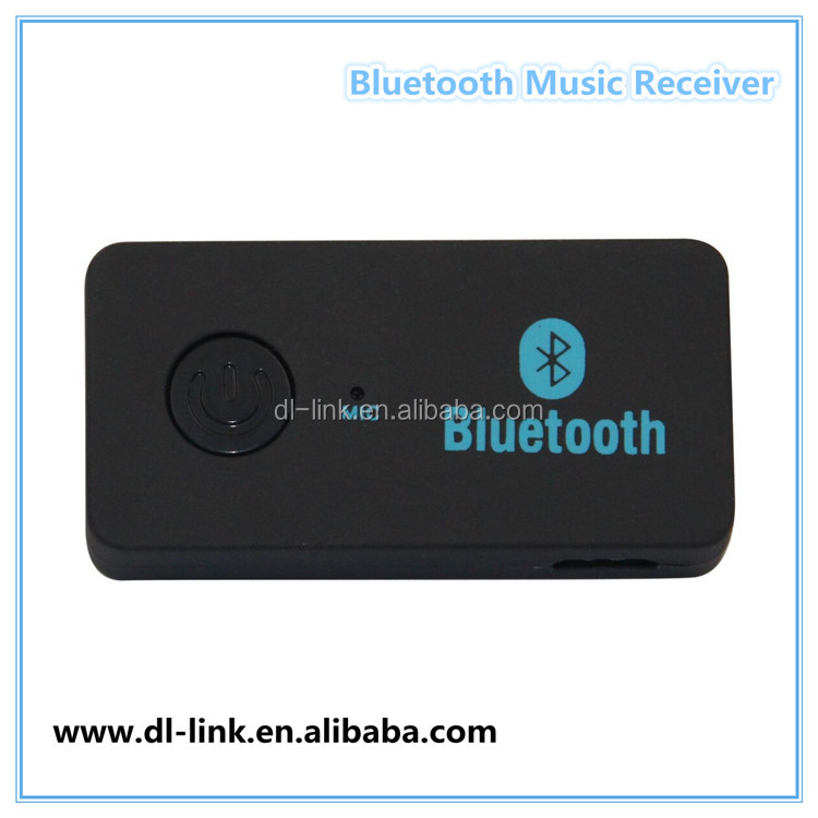 Factory supply! Car bluetooth aux , Bluetooth car kit Music Receiver With Microphone