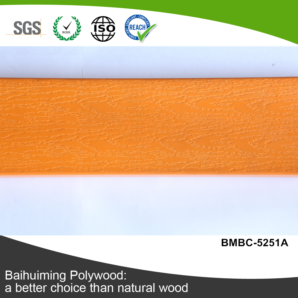 Outdoor PS Slat for Fence for Imitation Wood Plastic Floor (BMBC-5251A)