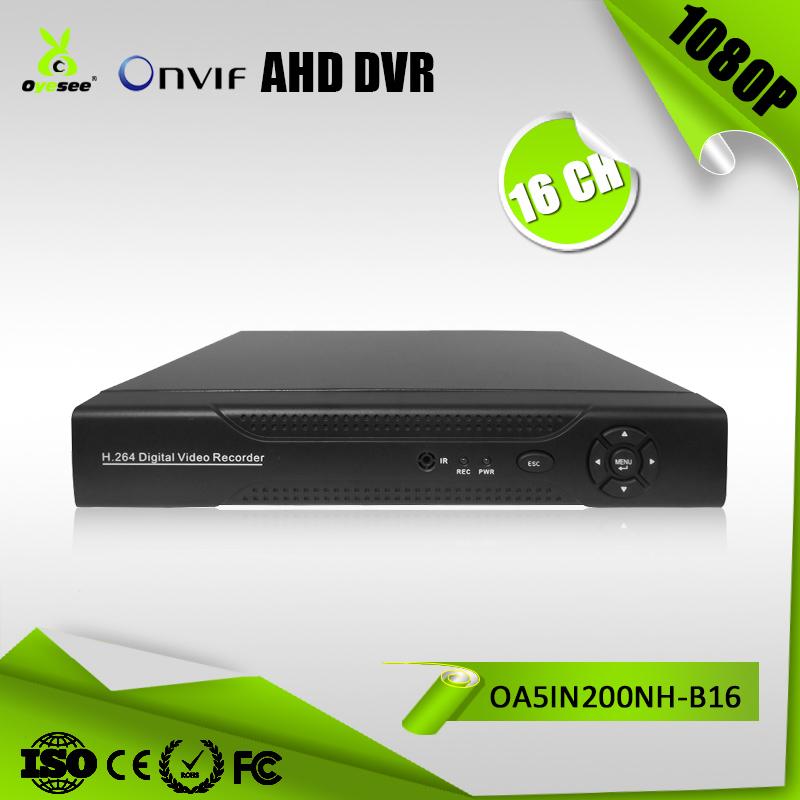 OA5IN200NH-B16 h.264 16CH free client software 960*1080 Hybrid 5in1 DVR