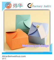 wholesale favor paper gift box /packaging box